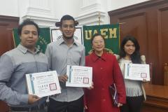 Ceremonia de Entrega de Certificados TOCFL UAEM 2015